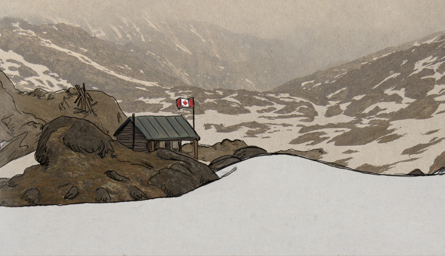 Chilkoot Pass now